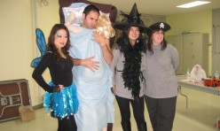"<p style=""text-align: center;"">Podium members get in the Halloween spirit</p>"