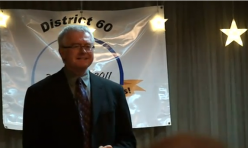 "<p style=""text-align: center;"">Bill Deneault's winning 2010 District 60 Table topics - improvised speech on the subject of ""Connections""</p>"