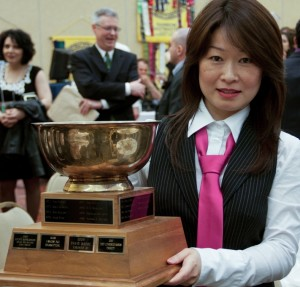Podium member Yan Li won the 2012 District 60 International Speech contest and competed at the Regional contest in Orlando, Florida.